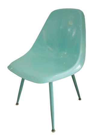 Aqua Shell Chairs