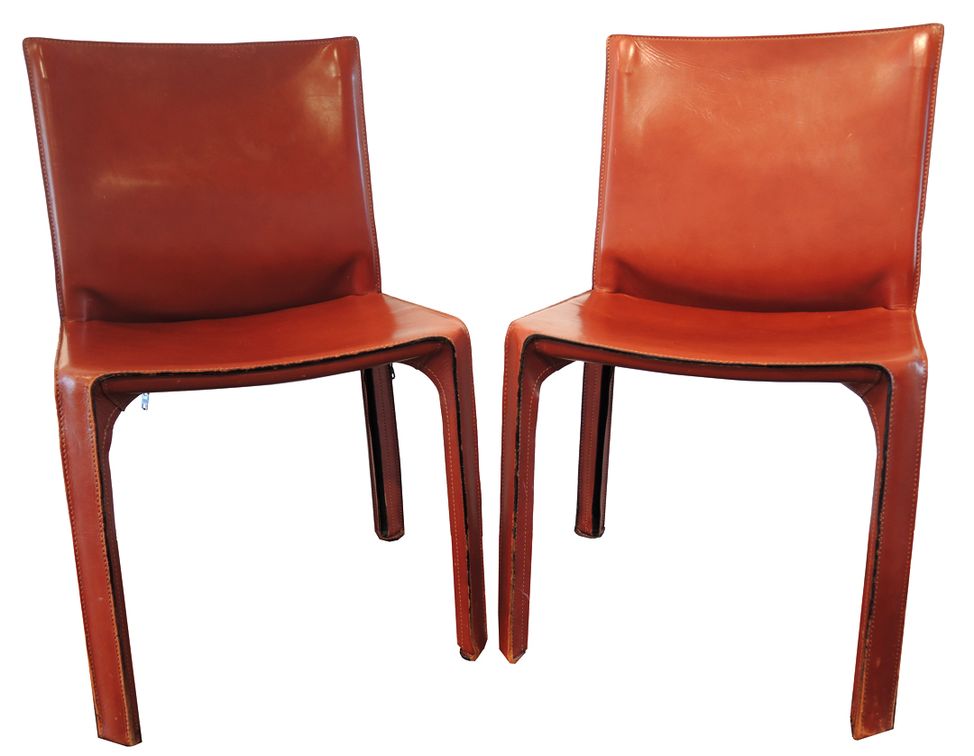 Cab Side Chairs By Mario Bellini For Cassina
