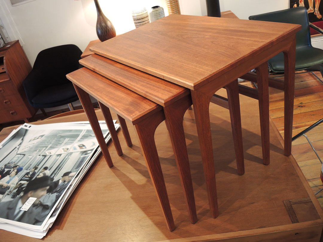 Teak Nesting Tables ~ Nesting tables inabstracto
