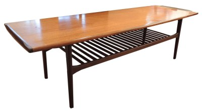 Teak-Rosewood Coffee Table