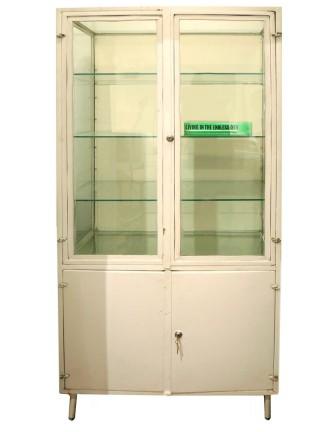 Vintage European Medical Cabinet