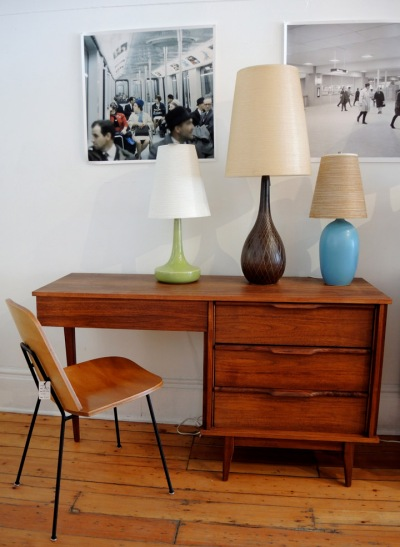 Walnut Desk & Lottes