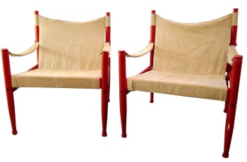 Red Safari Chairs