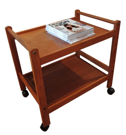 Teak Bar Cart
