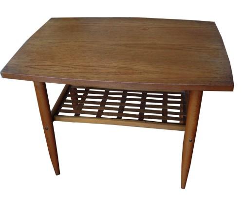 Teak Side Table_weaving