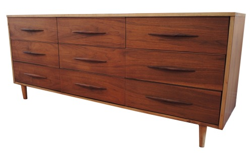 Walnut:Ash Dresser