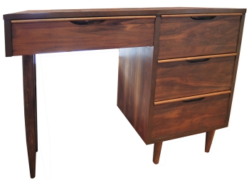 1960s Walnut Desk