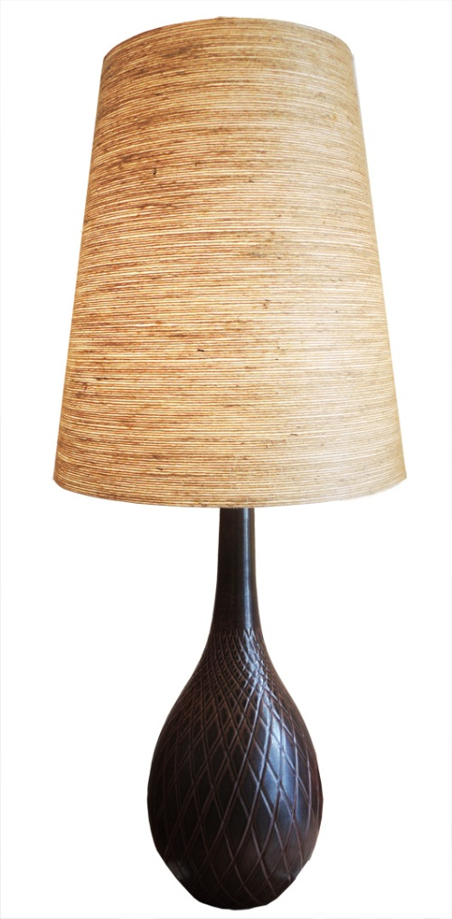 brown lotte lamp