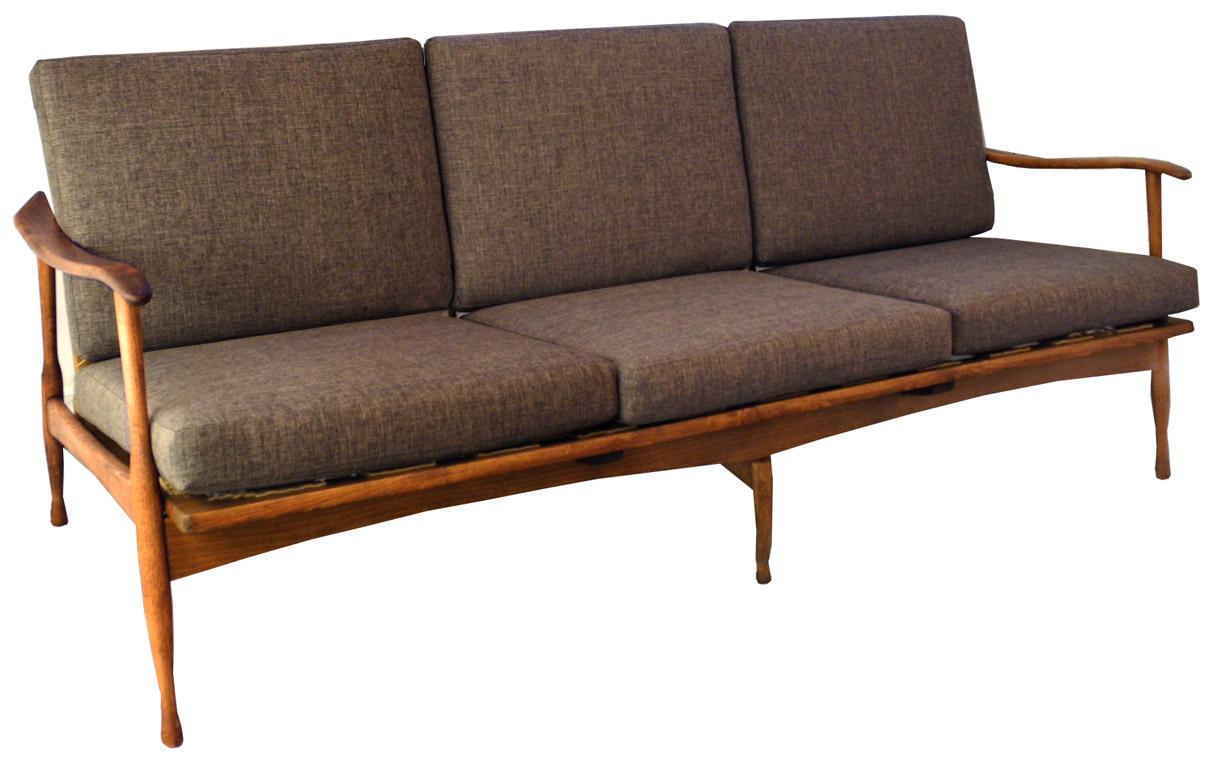 Mid Century 3 Seater Sofa