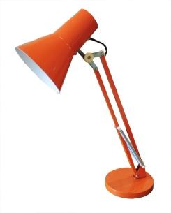 orange luxo lamp
