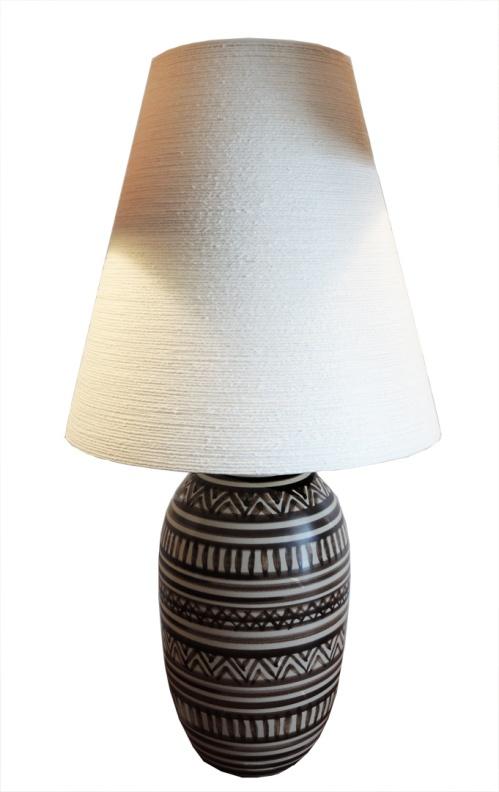 tribal lotte lamp