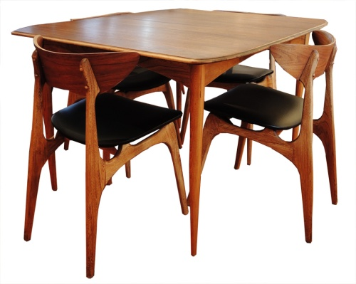 Walnut Dining Set_3