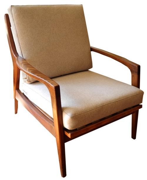 Walnut_Maharam Lounge Chair