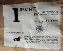 Eames Splint Authentication