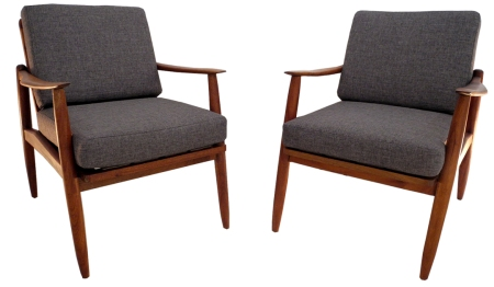 mahogany lounge chairs