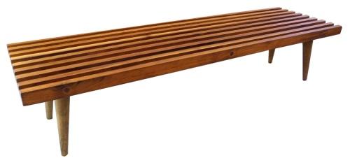 Slat Bench