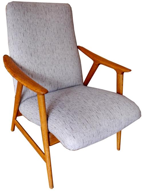 lounge chair 1960s corduroy LR