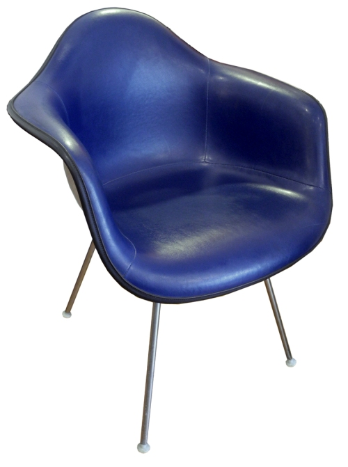 navy herman miller chair LR
