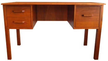 Teak Desk_Simple 3 dwr_LR