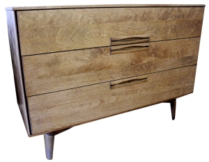 birch 3 drawer LR