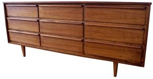 walnut 9 drawer LR