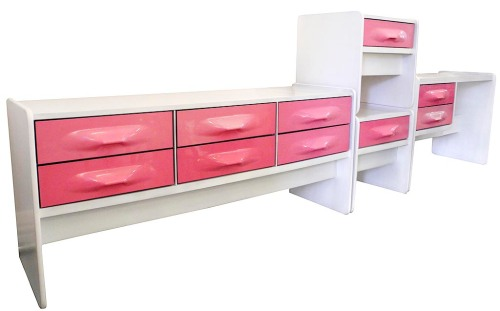Pink Bedroom Set_LR