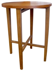 round teak side table LR