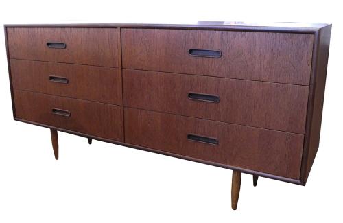Six Drawer Teak Dresser_LR