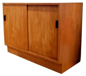 teak storage unit LR