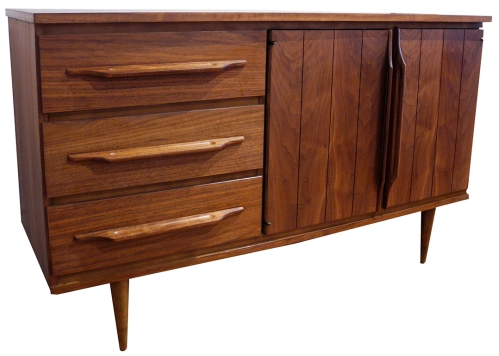 walnut sideboard LR