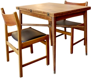 fold out dining table LR