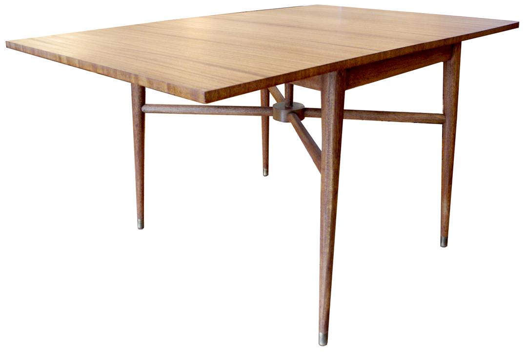 Folding Mahogany Dining Table Inabstracto