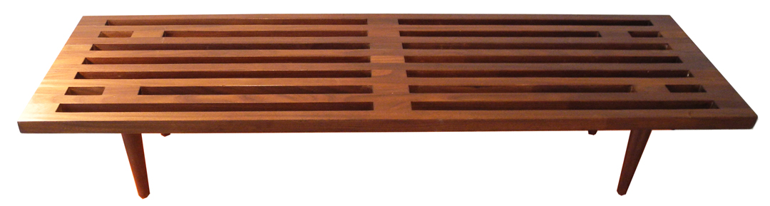 george nelson style bench LR