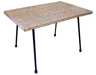 rattan table LR
