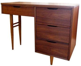 walnut desk LR