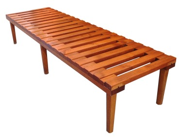 Cdn Slatted Bench