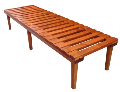 Cdn Slatted Bench