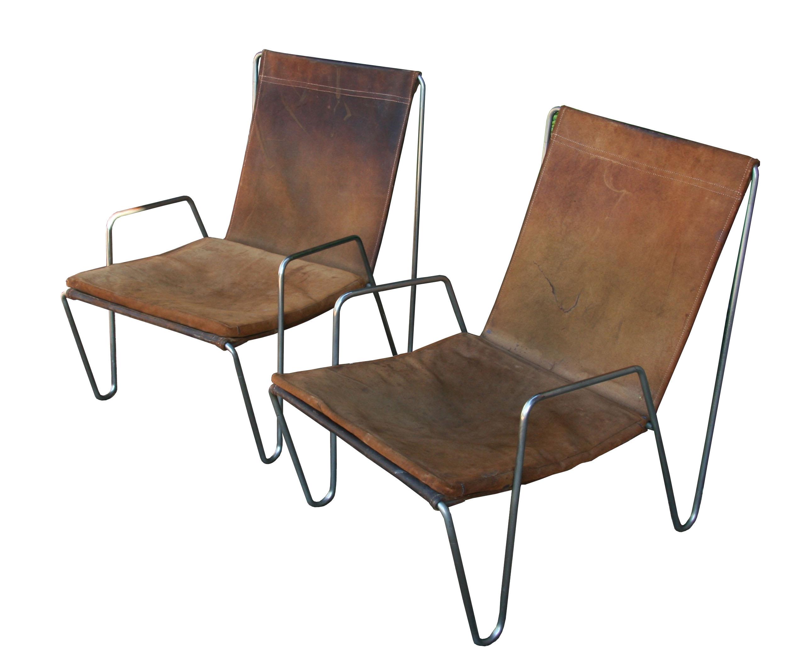Modern sling chairs - Verner Panton Bachelor Chairs