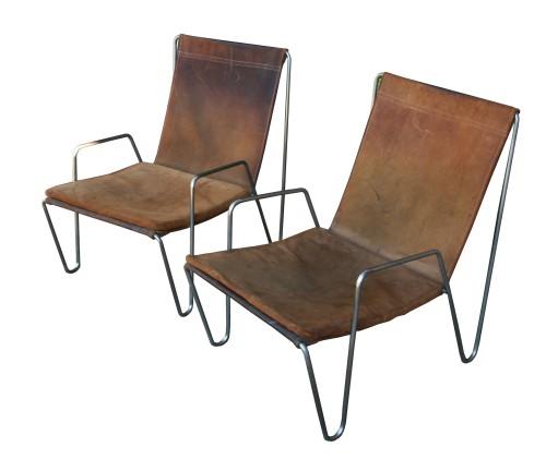 Verner Panton Bachelor Chairs