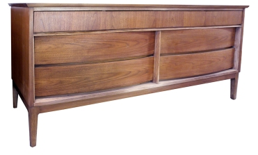 walnut birch dresser LR