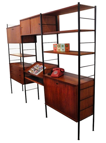 Teak Shelving Unit_LR