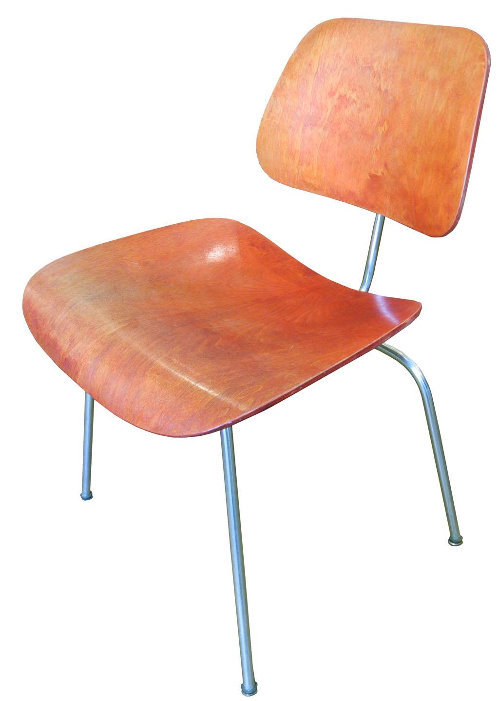 original eames aniline dcm chair inabstracto