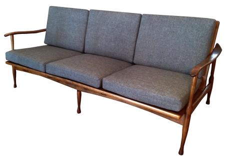 Walnut Sofa