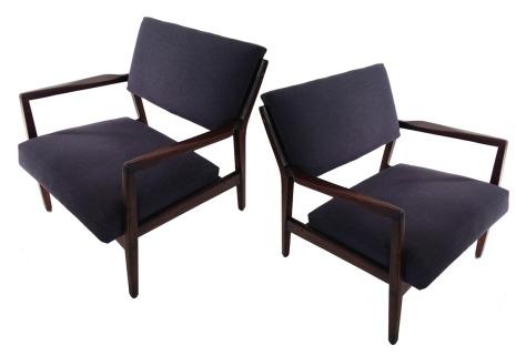 Walnut Lounge Chairs