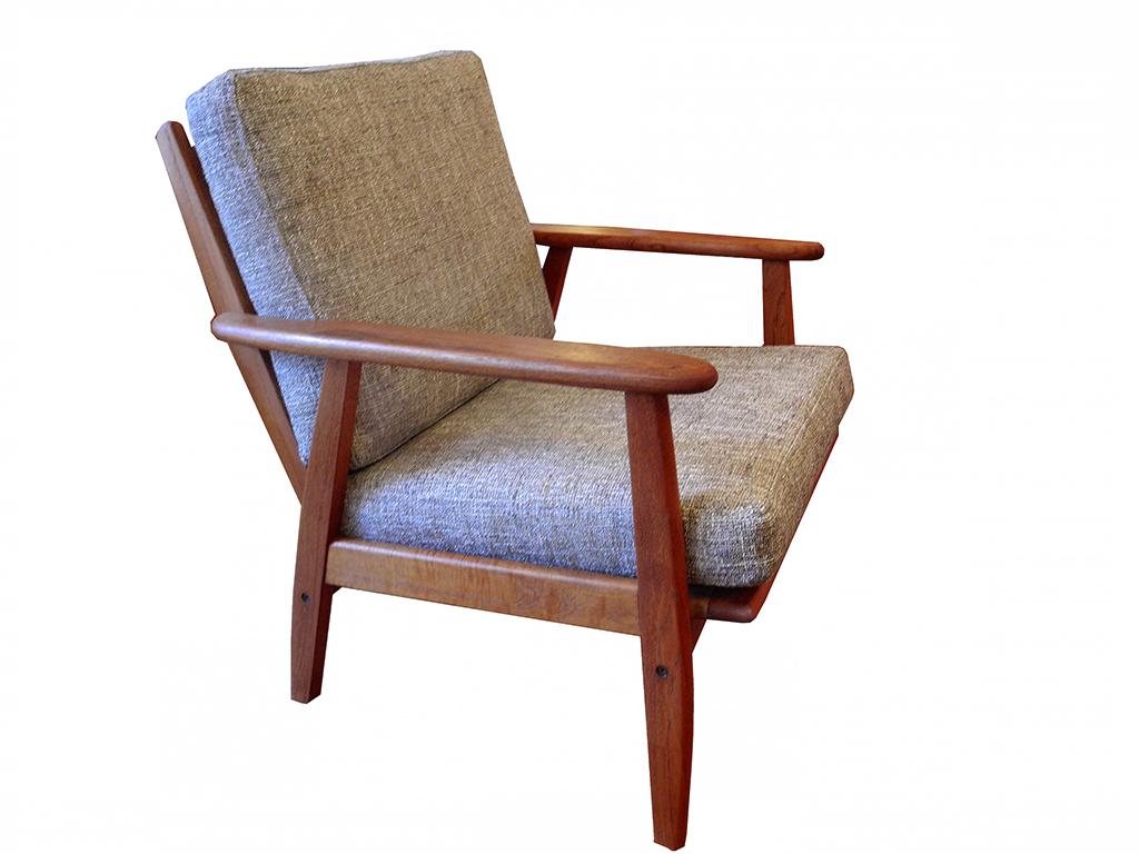 teak lounge chair_1115