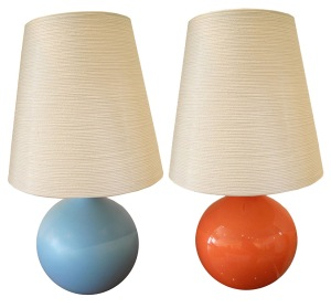 Lotte Lamps, Designed in Canada, 1960s.