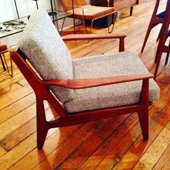 arne vodder danish lounge chair sold