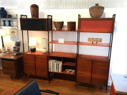 British MCM Shelving Unit
