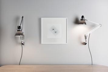 Type 1228 Wall Mounted Lamp - Granite Grey